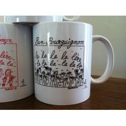 "MUGS ""BAN BOURGUIGNON""lalalalalère..."