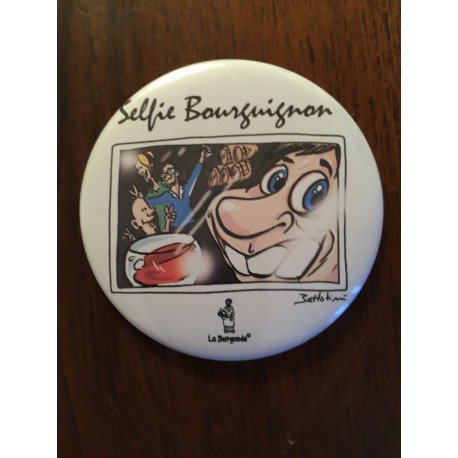"MAGNET ""SELFIE BOURGUIGNON"""
