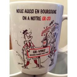 """MUGS """"GR-20 : Grande Route des Vins"""""""