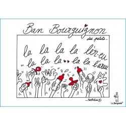 CARTE POSTALE BAN BOURGUIGNON des PETITS