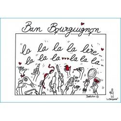 CARTE POSTALE BAN BOURGUIGNON pour les FEMMES