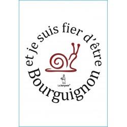 CARTE POSTALE FIER D'ETRE BOURGUIGNON