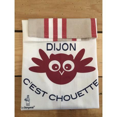 TORCHON RAYE DIJON, c'est Chouette