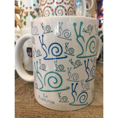 "MUGS ""ESCARGOT BLEU"""