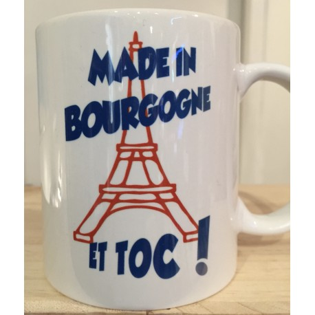 MUGS TOUR EIFFEL MADE IN BOURGOGNE
