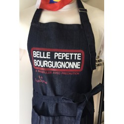 TABLIER BELLE PEPETTE BOURGUIGNONNE