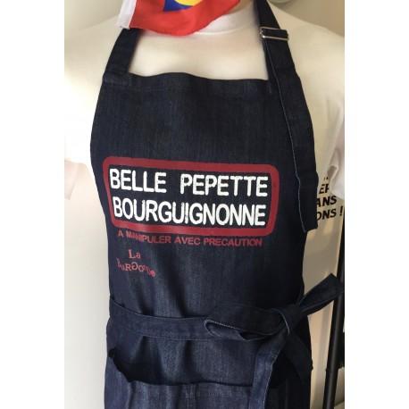 TABLIER BELLE PEPETTE BOURGUIGNONNE