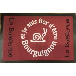 TAPIS FIER D'ETRE BOURGUIGNON
