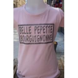 T SHIRT ENFANT BELLE PEPETTE BOURGUIGNONNE