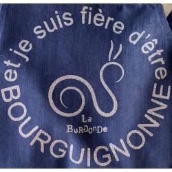 TABLIER FIERE D'ETRE BOURGUIGNONNE Paillettes