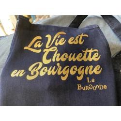 TABLIER La Vie est Chouette en Bourgogne