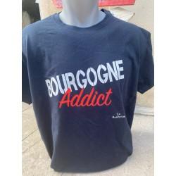 T SHIRT BOURGOGNE ADDICT