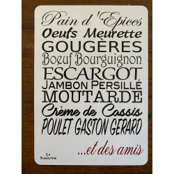 CARTE POSTALE Route des grands crus