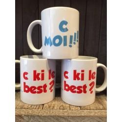 MUGS C KI LE BEST ? ... C MOI !!!