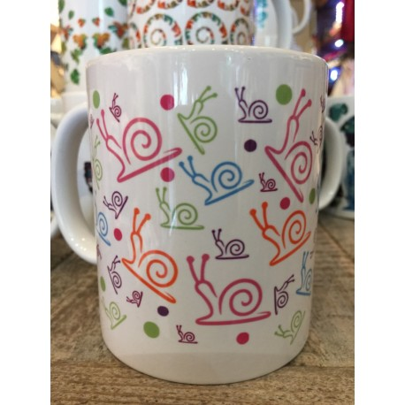 "MUGS ""ESCARGOT MULTICOLOR"""