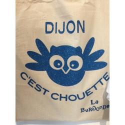 SAC COTON DIJON,c'est Chouette PAILLETTES